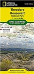 259 Theodore Roosevelt National Park National Geographic Trails Illustrated