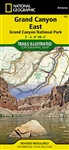 262 Grand Canyon East Grand Canyon National Park National Geographic Trails Illustrated