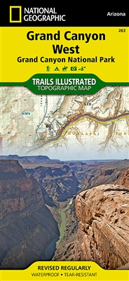 263 Grand Canyon West Grand Canyon National Park National Geographic Trails Illustrated