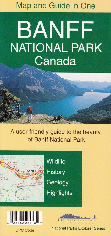 Map Of Canada Banff.Banff National Park Gem Trek