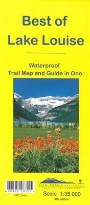 Best of Lake Louise Trail Map & Guide - Gem Trek. This map is designed for people who only plan to be in the Lake Louise area for one to three days, and want to know what the highlights are and how to find them. On the front is a 1:35,000 scale detailed t