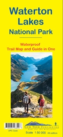 Waterton Lakes National Park Trail Map & Guide - Gem Trek. The Waterton Lakes National Park map is one of our most popular trail map-guides for the Canadian Rockies. This fourth edition is relief shaded and printed on waterproof material. The map covers a