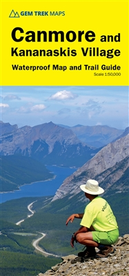 Canmore & Kananaskis Village Hiking Map - Kananaskis Country - Gem Trek. This map covers some of the most popular terrain for hikers and mountain bikers in Kananaskis Country - Bow Valley Provincial Park, the Canmore area, the Smith-Dorrien / Spray Lakes