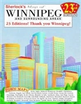 Winnipeg and surrounding area spiral bound city atlas. Our spiral bound city atlases of Winnipeg and Calgary are our signature products. Recognized by their catching cityscape covers and yellow spiral bindings, these attractive and durable maps are a driv