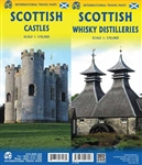 Scottish Castles & Whisky Distilleries Travel Map. This double-sided map of Scotland highlights many of the open to the public castles and whisky distilleries. What does the word Scotland mean to first-time visitors to the country? The history of the nati