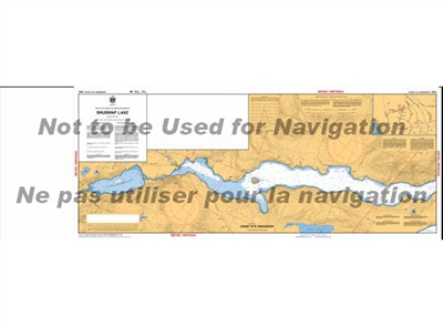 3053 - Shuswap Lake Nautical Chart