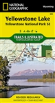 305 Yellowstone Lake Yellowstone National Park. National Geographics Trails Illustrated map of the Yellowstone Lake area of Yellowstone National Park is designed to meet the needs of outdoor enthusiasts with unmatched detail of the southeast section of
