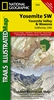 306 Yosemite SW Yosemite Valley and Wawona National Geographic Trails Illustrated