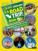 Ultimate US Road Trip Atlas National Geographic