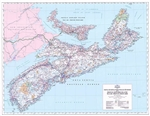 Nova Scotia Prince Edward Island Base Map