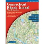 Connecticut Rhode Island Atlas & Gazetteer. With an incredible wealth of detail, DeLormes Atlas & Gazetteer is the perfect companion for exploring the Connecticut and Rhode Island outdoors. Extensively indexed, full-color topographic maps provide informat