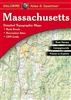 Massachusetts Atlas & Gazetteer. With an incredible wealth of detail, DeLormes Atlas & Gazetteer is the perfect companion for exploring the Massachusetts outdoors. Extensively indexed, full-color topographic maps provide information on everything from cit