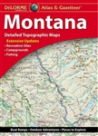 Montana Travel Atlas & Gazetteer. Extensively indexed, full-color topographic maps provide information on everything from cities and towns to historic sites, scenic drives, trailheads, boat ramps and even prime fishing spots. With a total of 80 map pages,
