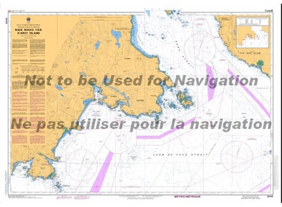 3440 Race Rocks to DArcy Island Nautical Chart. Canadian Hydrographic Service (CHS)'s exceptional nautical charts and navigational products help ensure the safe navigation of Canada's waterways. These charts are the 'road maps' that guide mariners safely
