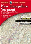 New Hampshire and Vermont Atlas and Gazetteer