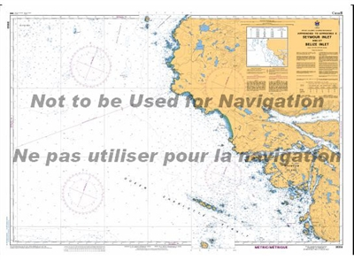3550 - Approaches to Seymour Inlet and Belize Inlet Nautical Chart. Canadian Hydrographic Service (CHS)'s exceptional nautical charts and navigational products help ensure the safe navigation of Canada's waterways. These charts are the 'road maps' that gu