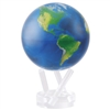 MOVA World Globe Satellite - 4.5 Inch. MOVA Globe recreates the earth's perpetual motion in space, on your desktop, or even in the palm of your hand. These globes float at a perfect point of balance between gravitational forces and the buoyant forces of s