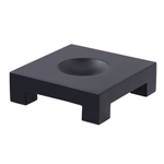 MOVA Square Wood Base in Black