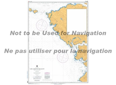 3624 - Cape Cook to Cape Scott Nautical Chart. Canadian Hydrographic Service (CHS)'s exceptional nautical charts and navigational products help ensure the safe navigation of Canada's waterways. These charts are the 'road maps' that guide mariners safely f