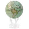 MOVA Globe Cassini Sea Foam - 4.5 Inch. MOVA Globe recreates the earth's perpetual motion in space, on your desktop, or even in the palm of your hand. These globes float at a perfect point of balance between gravitational forces and the buoyant forces of