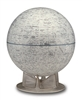 The Moon - 12 inch Desk Globe. Check out the lunar landscape of the moon. This extraordinary 12 inch globe accurately depicts the geographical features of the Earth's moon such as craters, lunar seascapes, and mountain ranges. NASA approved. This globe ca