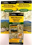 White Mountain National Forest Trail Illustrated map pack by National Geographic. Includes two maps in this set Presidential Range, Gorham in the east and Franconia Notch, Lincoln in the west. These maps are waterproof and tear resistant.