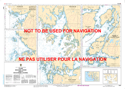 3910 - Milbanke Sound and Beauchemin Channel - Plans - Canadian Hydrographic Service (CHS)'s exceptional nautical charts and navigational products help ensure the safe navigation of Canada's waterways. These charts are the 'road maps' that guide mariners