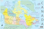 Canada Educational Map Set