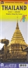 Thailand travel and road map. Thailand is a wonderful country to visit, and this map shows road and rail connections, distances, and touristic attractions. We have added an inset map of Chiang Mai, as well as revising our Bangkok inset. Printed plastic pa