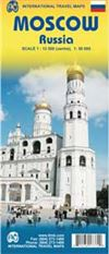Moscow Russia Travel & Road Map. This is a fairly detailed map of Moscow, Russia and includes a metro guide.