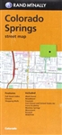 Colorado Springs local street map. Rand McNallys folded map featuring the streets of Colorado Springs is a must-have for anyone traveling in and around this part of Colorado, offering unbeatable accuracy and reliability at a great price. Our trusted carto