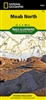 Moab North Utah Trail Map National Geographic. This map includes an inset of Monitor & Merrimac Buttes, Sovereign Trail and Moab, Slickrock areas, as well as additional detail of the following three regions - Monitor & Merrimac Buttes & Bartlett Wash & So