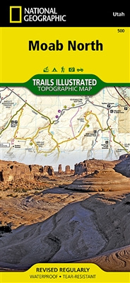 500 Moab North National Geographic Trails Illustrated