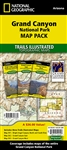 Grand Canyon National Park Map Pack Bundle National Geographic Trails Illustrated. National Geographic Trails Illustrated's three map collection provides two unique perspectives on the park; a comprehensive overview of the entire park and its neighboring