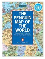 Folded World Map by Penguin. Clear, colorful, crammed with information and up to date, The Penguin Map of the World is a unique concept in maps. For the first time, Michael Middleditch's revised edition includes all the flags of the world and updated poli