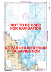 5376 - Approaches to Riviere Koksoak - Canadian Hydrographic Service (CHS)'s exceptional nautical charts and navigational products help ensure the safe navigation of Canada's waterways. These charts are the 'road maps' that guide mariners safely from port