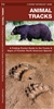 North America Animal Tracks pocket guide. Animal Tracks provides a simplified field reference to familiar tracks and signs of over 65 North American mammals and birds. Laminated for durability, this handy guide also features a ruler for measuring animal t