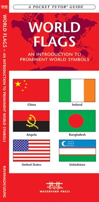World Flags pocket guide. World Flags is a concise introduction to the flags, capitals and populations of 210 world countries and over 200 international symbols. Laminated for durability, this folding pocket guide is a great source of portable information