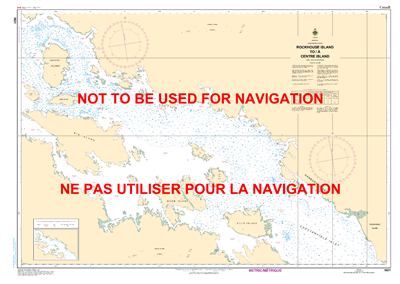 5621 - Rockhouse Island to Centre Island - Canadian Hydrographic Service (CHS)'s exceptional nautical charts and navigational products help ensure the safe navigation of Canada's waterways. These charts are the 'road maps' that guide mariners safely from