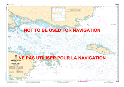 5629 - Marble Island to Rankin Inlet - Canadian Hydrographic Service (CHS)'s exceptional nautical charts and navigational products help ensure the safe navigation of Canada's waterways. These charts are the 'road maps' that guide mariners safely from port