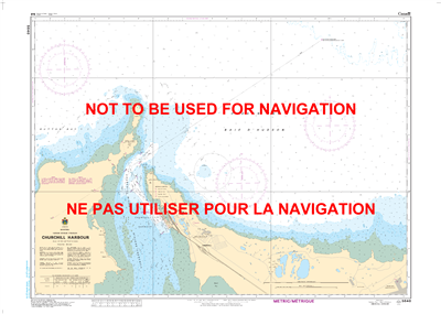 5640 - Churchill Harbour - Canadian Hydrographic Service (CHS)'s exceptional nautical charts and navigational products help ensure the safe navigation of Canada's waterways. These charts are the 'road maps' that guide mariners safely from port to port. Wi
