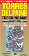 Torres Del Paine - Trekking & Mountaineering map