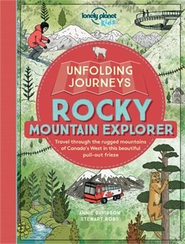 Unfolding Journeys Rocky Mountain Explorer. Take a trip across one of the most incredible landscapes on the planet. This sensational fold-out frieze is more than six-feet long and can be removed and displayed. From Vancouver to Calgary, this amazing mount