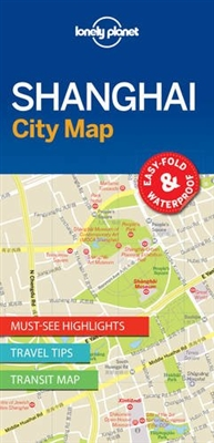 Shanghai City Map Lonely Planet