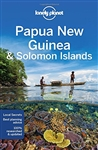 Papua New Guinea and Solomon Islands Lonely Planet Guide.  Covers: Port Moresby, Central Province, Oro Province, Milne Bay Province, Morobe Province, Madang Province, the Highlands, the Sepik, Island Provinces, the Solomon Islands and more