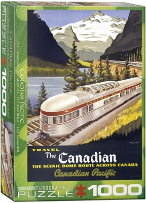 The Canadian Puzzle 1000 Pieces