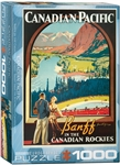 Banff Canadian Rockies Puzzle 1000 Pieces
