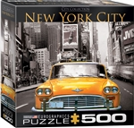 New York Cab Puzzle 500 Pieces