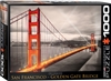 San Francisco Golden Gate Bridge - 1000 Piece Puzzle. Construct the Golden Gate Bridge piece-by-piece with this beautiful puzzle! The Golden Gate Bridge is a prominent American landmark and is the most well-known suspension bridge in the world. Spanning t