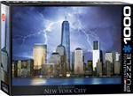 New York City World Trade Center - 1000 Piece Puzzle. If you can make it here, you can make it anywhere. A symbol of pride, resilience, and the finishing touches on the worlds greatest skyline, The World Trade Center.